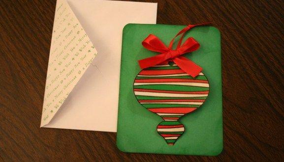 20+ Handmade Christmas Card Ideas Unique gifts, Handmade christmas