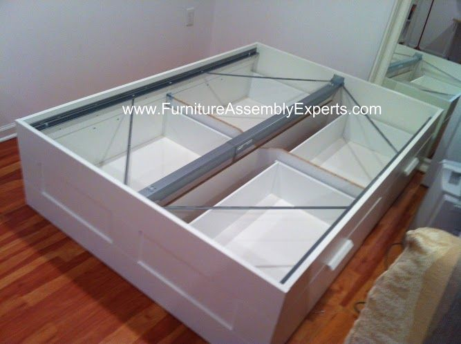 ikea brimnes storage bed assembled in vienna va by furniture assembly experts llc ikea