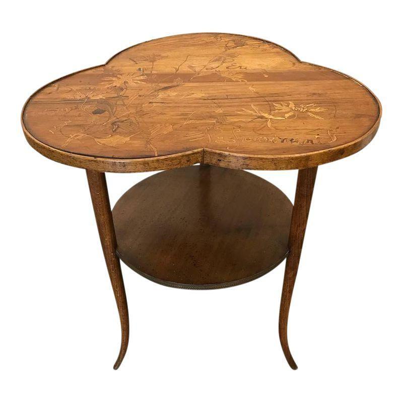 Louis Majorelle Art Nouveau Side Table Art Nouveau Furniture