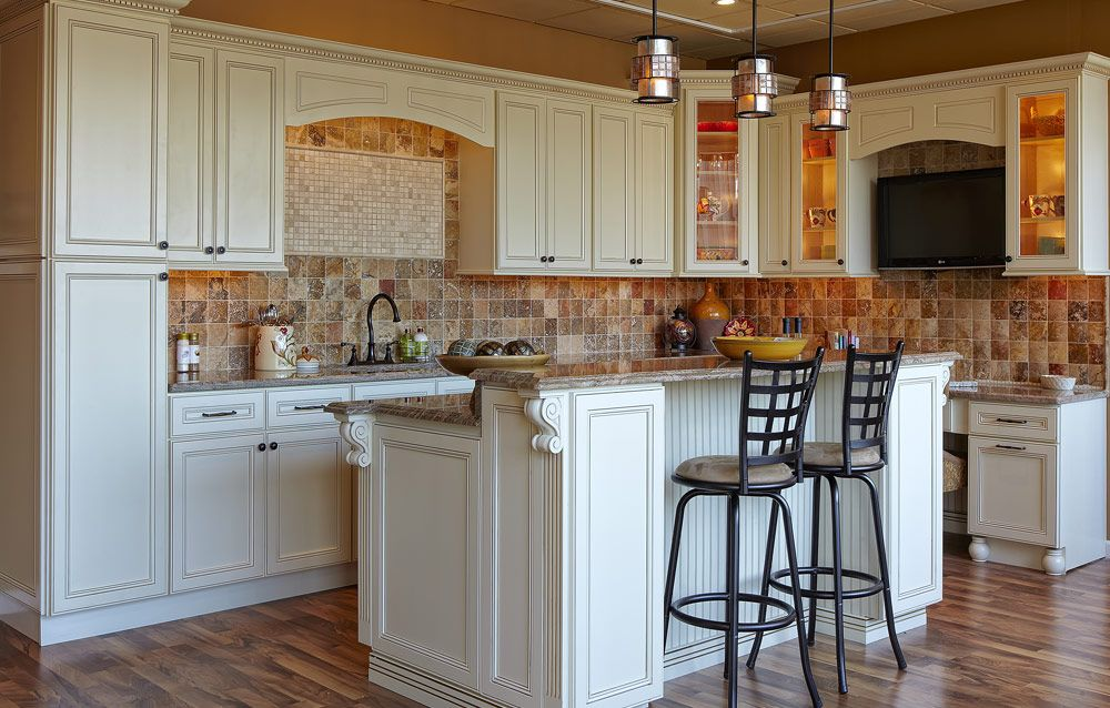 Cream Cabinets Pictures | Devon (Flat Panel)   Cream White   Kitchen  Cabinets