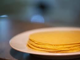 corn tortillas finished