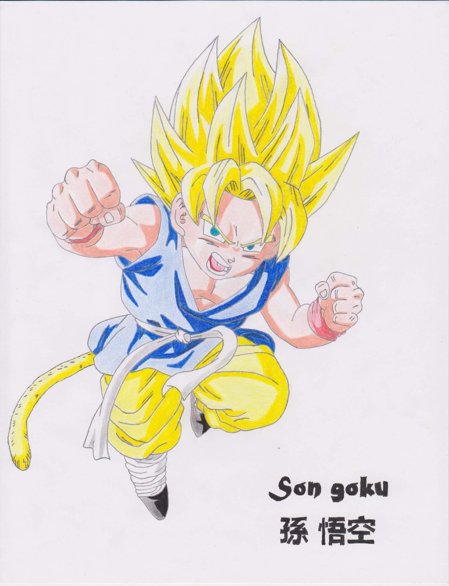 Son Goku - 孫 悟空 Anime  Dragon Ball GT