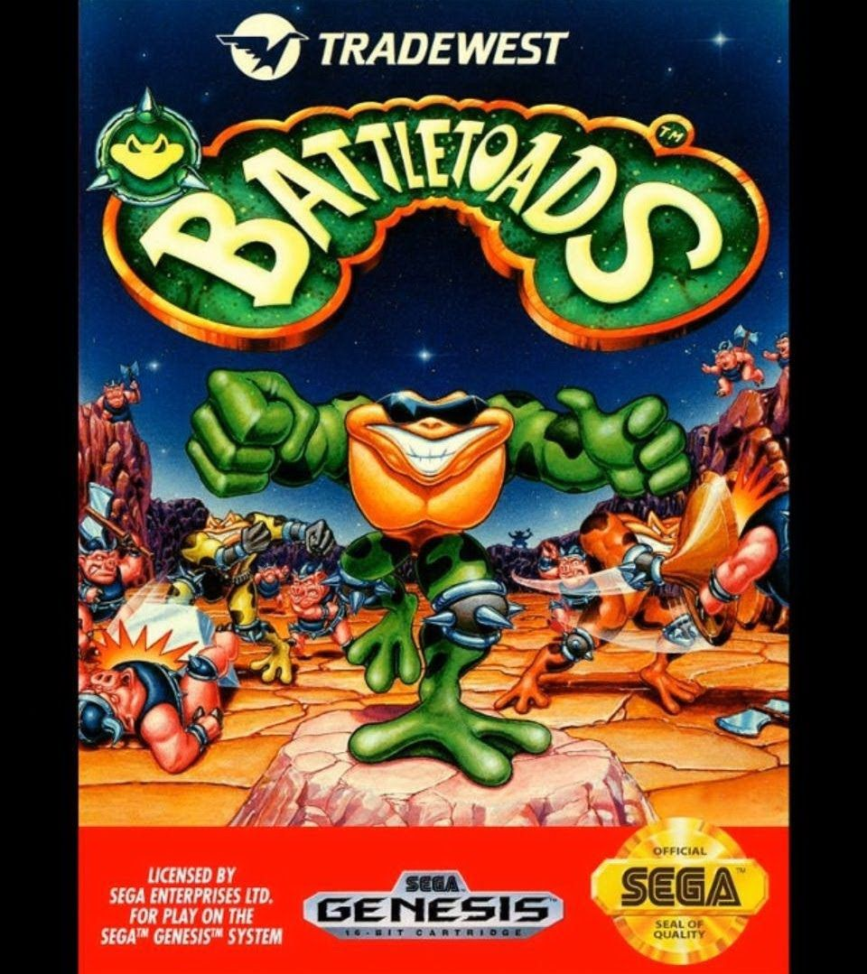 Battletoads Sega Genesis Nerd Pinterest Juegos Retro Juegos