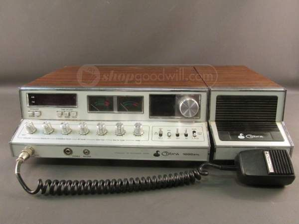 Cobra 1000gtl Base Cb Radio Vintage Citizens Band Radio