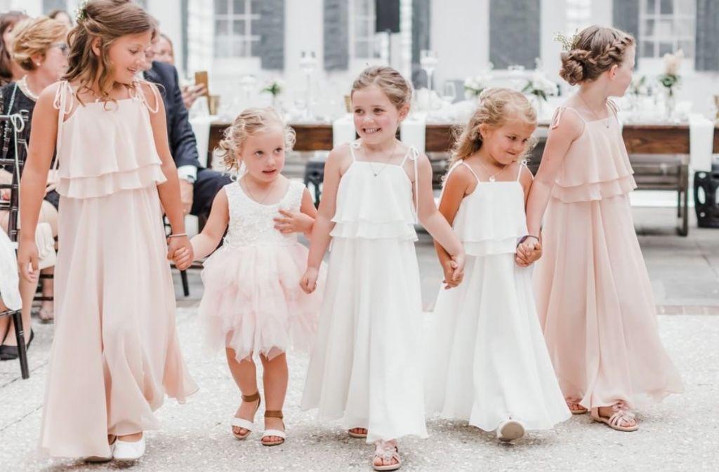 554fc76eb3c  flowergirls in our penny  jycpenny dress shown in blush + winter white 💕   jycflowergirl  jennyyoo  flowergirl  weddingideas