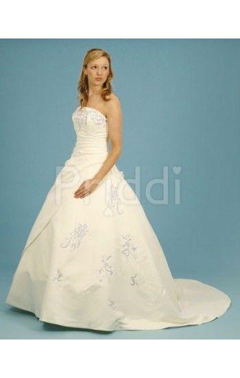 Striking Ivory with lilac wedding dress. | Purple wedding dresses ...