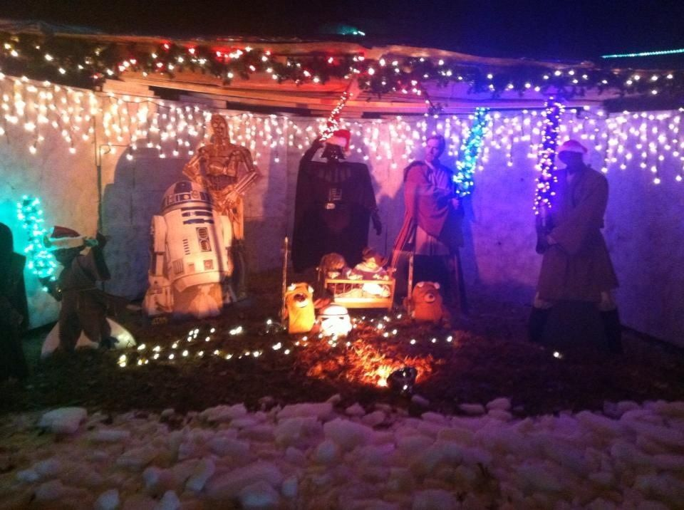 Went out looking at Christmas lights last night Wasn\u0027t