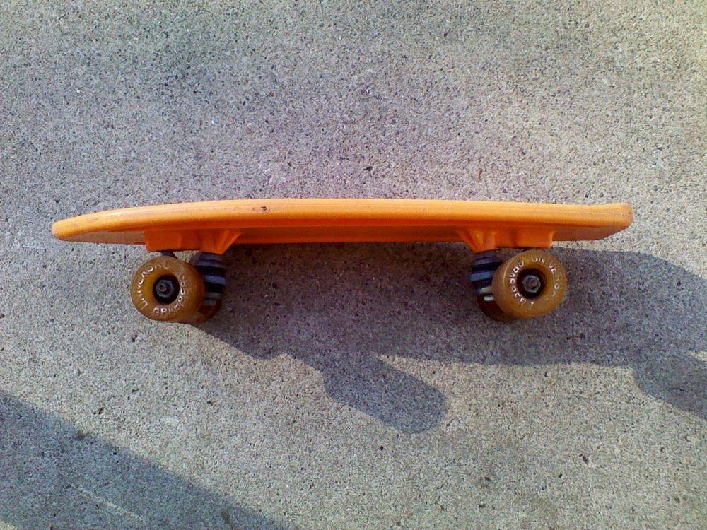 Vintage Skateboard X19 Universal Grabber Orange Old Good Condition 1970s  #UniversalGrabber