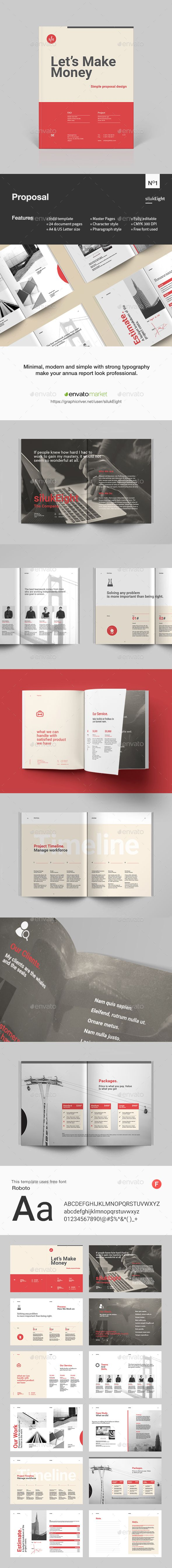 Proposal by silukEight Business Proposal Template is