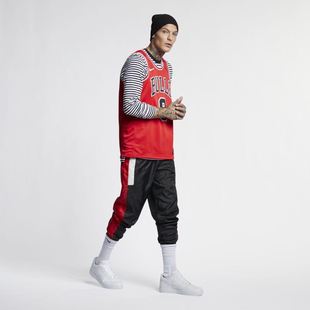 9b2bc2db Zach LaVine Icon Edition Swingman (Chicago Bulls) Men's Nike NBA Connected  Jersey Size S (University Red)