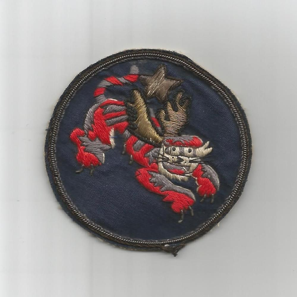 """1942 / 1943 Bullion China Air Task Force 2-1/2"""" Patch Inv# G672"""