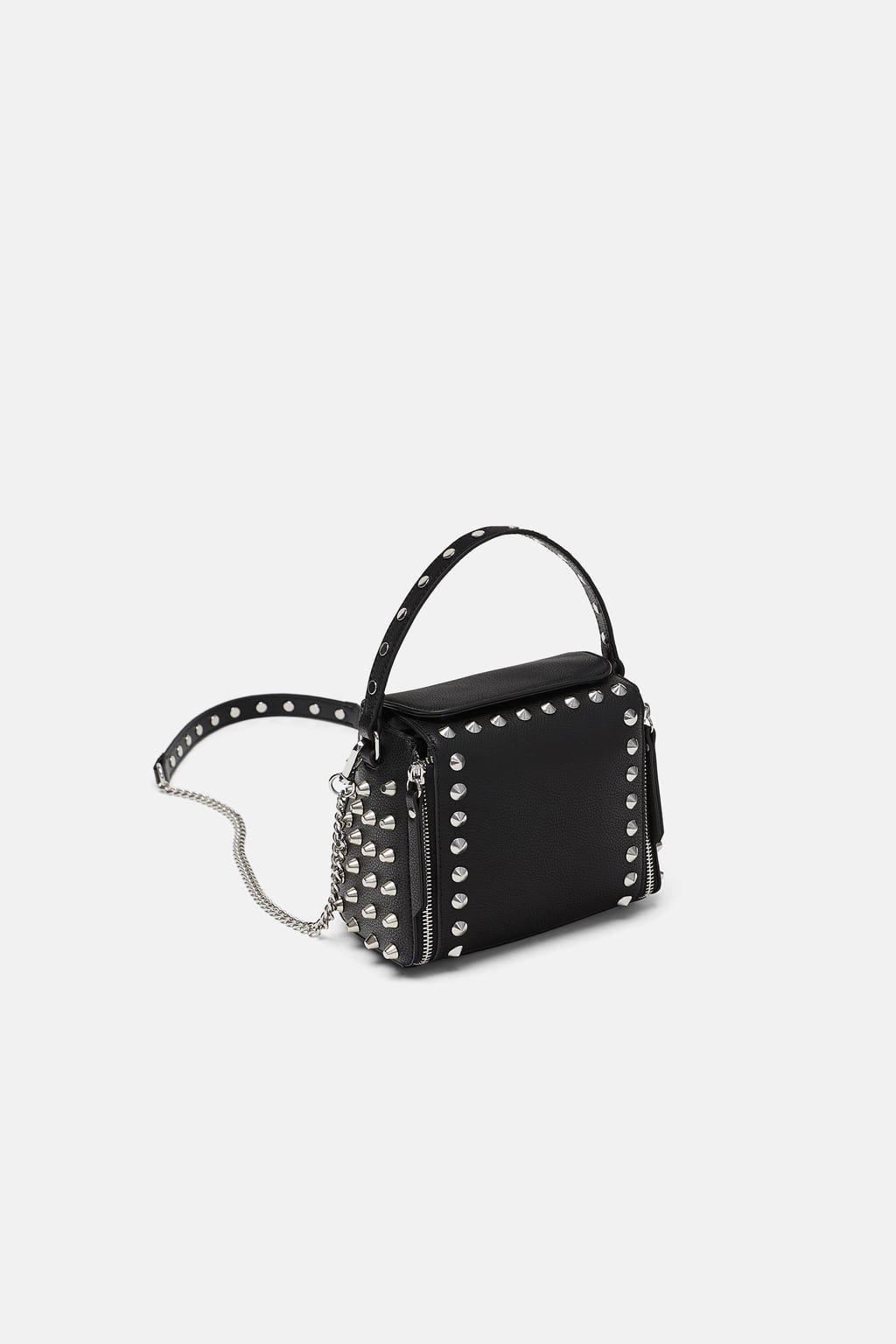 Image 1 Of Rocker Crossbody Bag From Zara Bags Black
