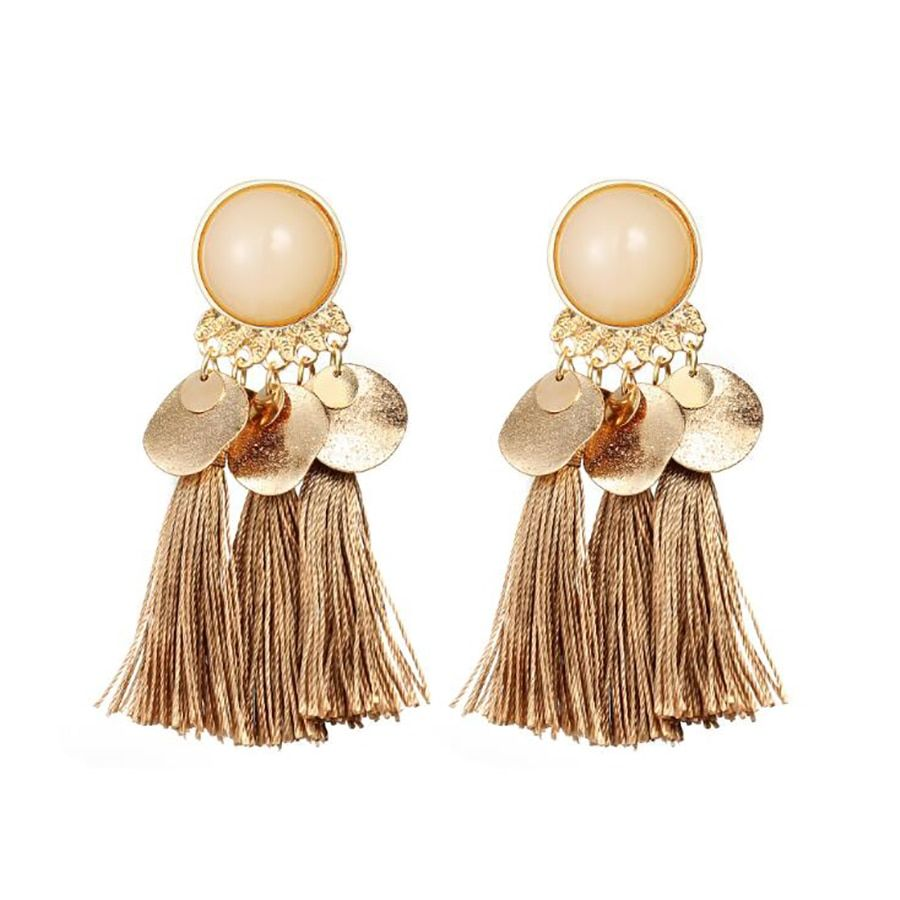 16b4682870383 Fringed Jewelry Earrings in 2019 | Small Shoulder Bags | Earrings ...