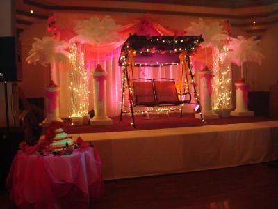 Simple Wedding Backdrop Ideas | Wedding Backdrop Ideas on Wedding Backdrop  Stage dcor without the swing