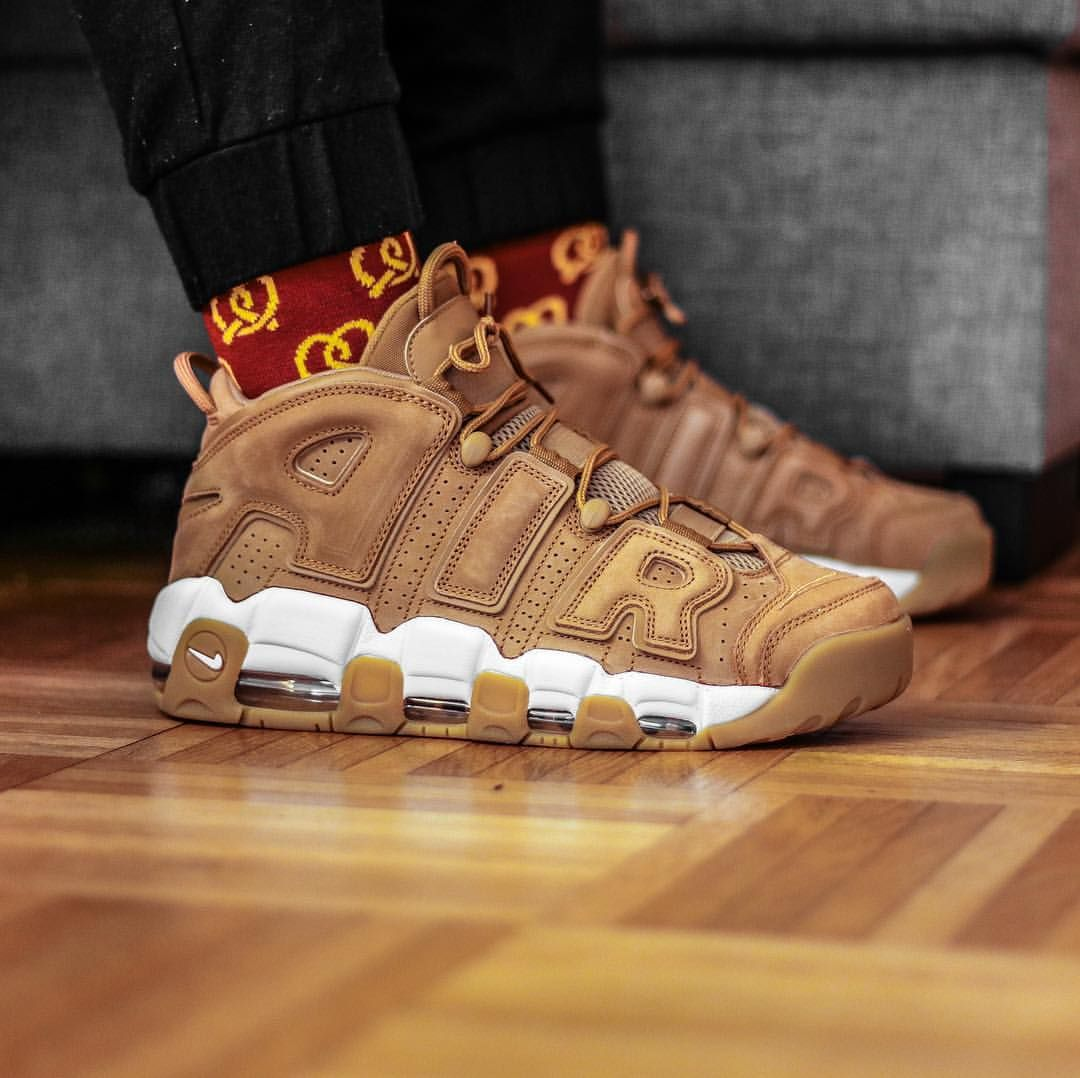 Nike Air More Uptempo  Wheat  343a71534d96