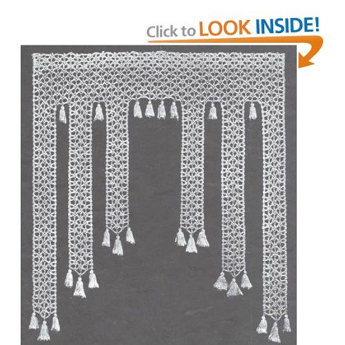 monkey face curtain crochet pattern winifred clark edith. Black Bedroom Furniture Sets. Home Design Ideas