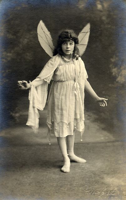 Vintage fairy in about 1920 by lovedaylemon, via Flickr