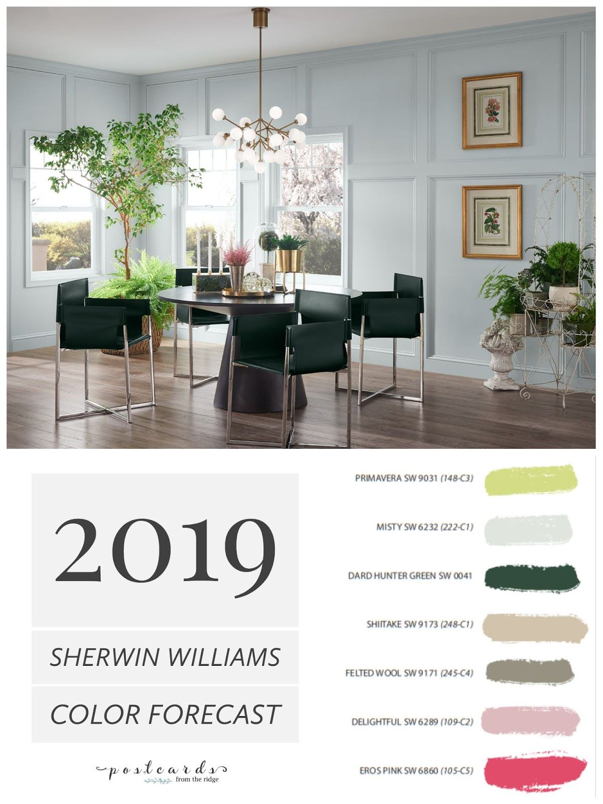 2019 Paint Color Forecast From Sherwin Williams Sherwin Williams Colors Paint Colors For Living Room Sherwin Williams Paint Colors