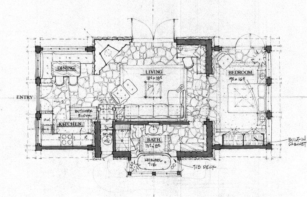 A Large Passion for Small Homes Colorado Carriage House - Floor Plan ...