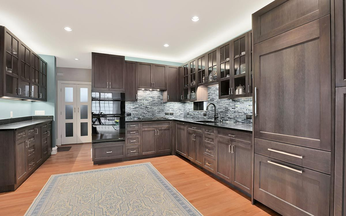 We Work With Craftspeople Like The Folks At Bluebird Cabinetry In Richmond Va To Create Custom In Kitchen Cabinets High Gloss Kitchen Cabinets Custom Kitchens