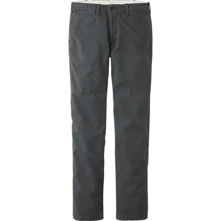 MEN VINTAGE REGULAR FIT CHINO FLAT FRONT PANTS | UNIQLO