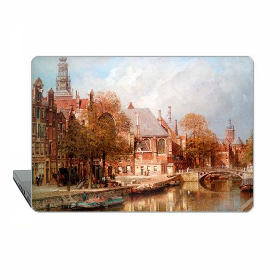 Amsterdam Macbook case Pro 15 touch bar classic art Case