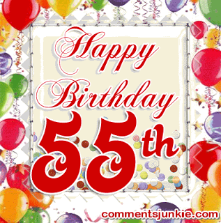 Happy 55th Birthday Quotes QuotesGram By Quotesgram