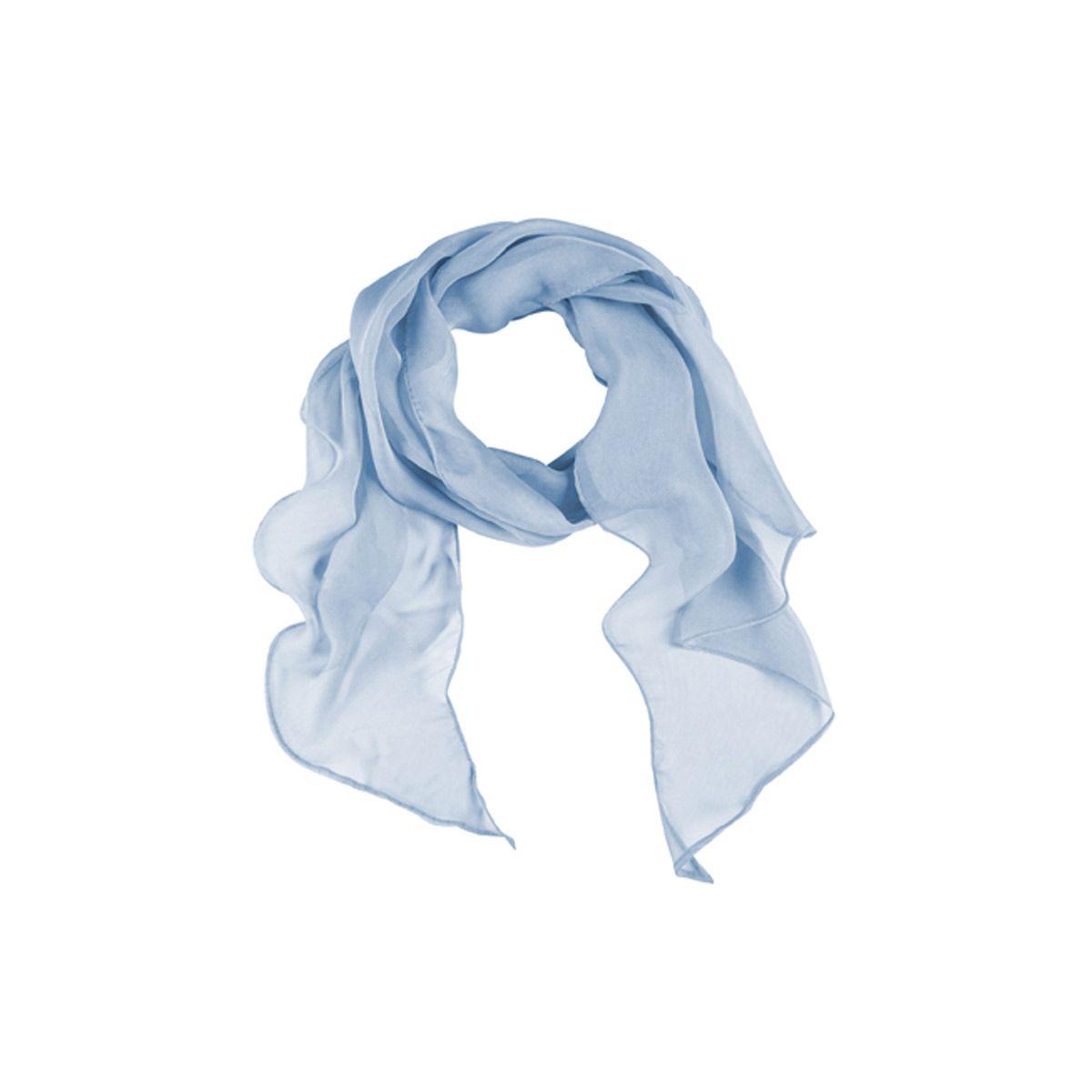 22d0167ade82 Foulard bleu clair femme 6916 est un accessoire de vêtement de travail  moderne, c est la spécialité de SPIQ. Retrouvez d autres modèles sur spiq.fr