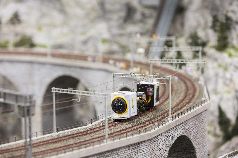 Mapa do Google capturou cenas em 360º de uma das maiores maquetes do mundo