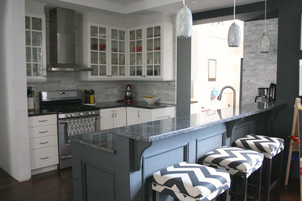 Small kitchen reno bella cucina pinterest space for Bella cucina kitchen cabinets