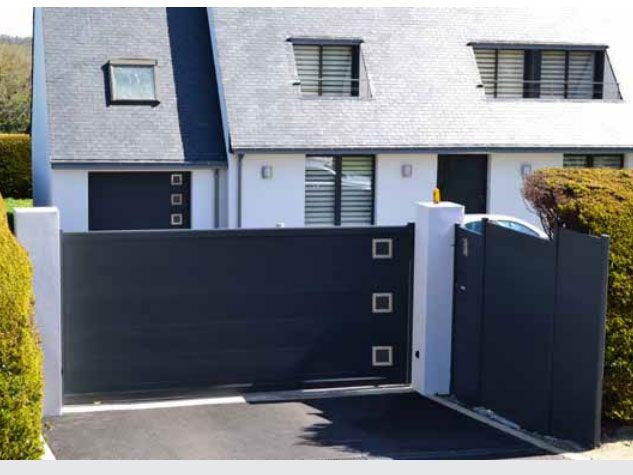 portail vdv m 112b. Black Bedroom Furniture Sets. Home Design Ideas