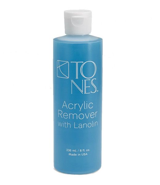 Acrylic Remover with Lanolin: 236 ml / 8 fl oz | Removedor de Acrílico con Lanolina: 236 ml / 8 fl oz