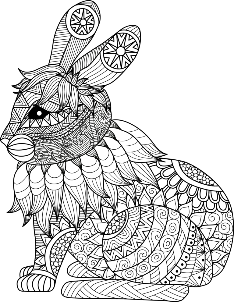 Printable Mandala Animals Zentangle Coloring Pages Animal Coloring Pages Mandala Coloring Coloring Pages