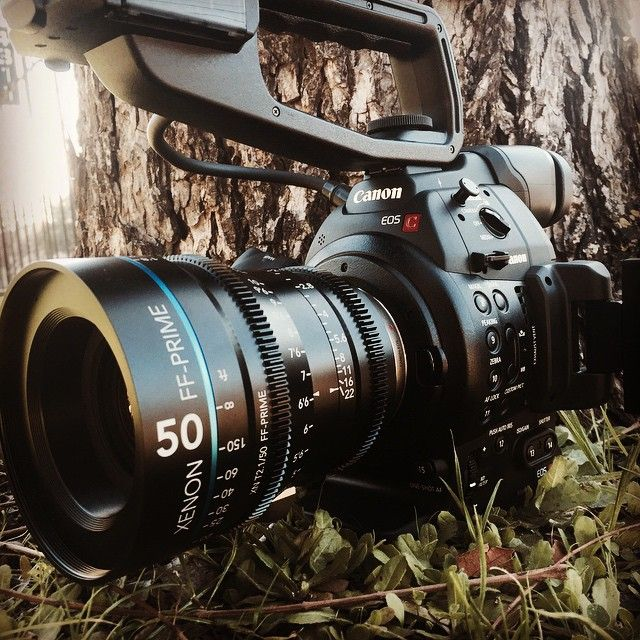 Canon C100 Mark II with Schneider Xenon 50mm Cinema Prime