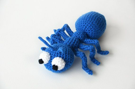 Amigurumi Ant Free Crochet Pattern | Crochet animal patterns ... | 378x570