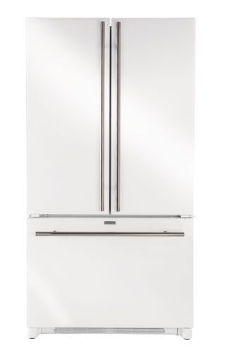 Jenn Air I Love How The Stainless Handles Make White Finish Look More Polished And Modern Who Needs A Fully Fridge