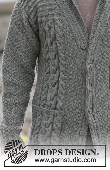 Free Pattern | Aran | Pinterest | Lima, Chal y Para hombres