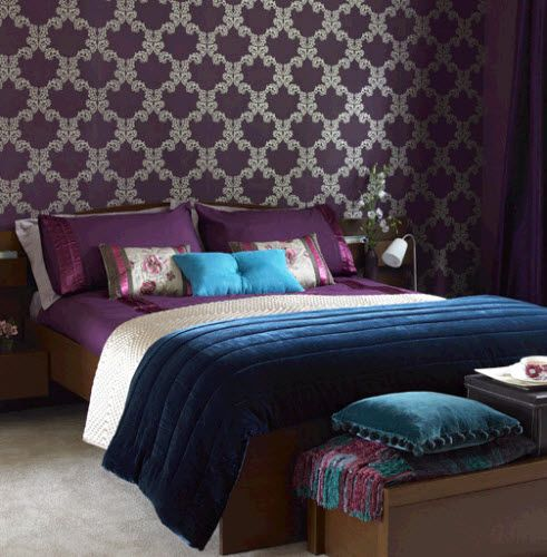 jewel tone bedroom ideas hgtvs color of the month demands attention october 2011 - Hgtv Bedrooms Colors