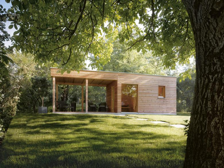 Sauna Fur Die Wohnung Wenn Die Schwitzkabine Im Wohnzimmer Steht Welt Aussensauna Gartenhaus Mit Sauna Sauna Im Garten