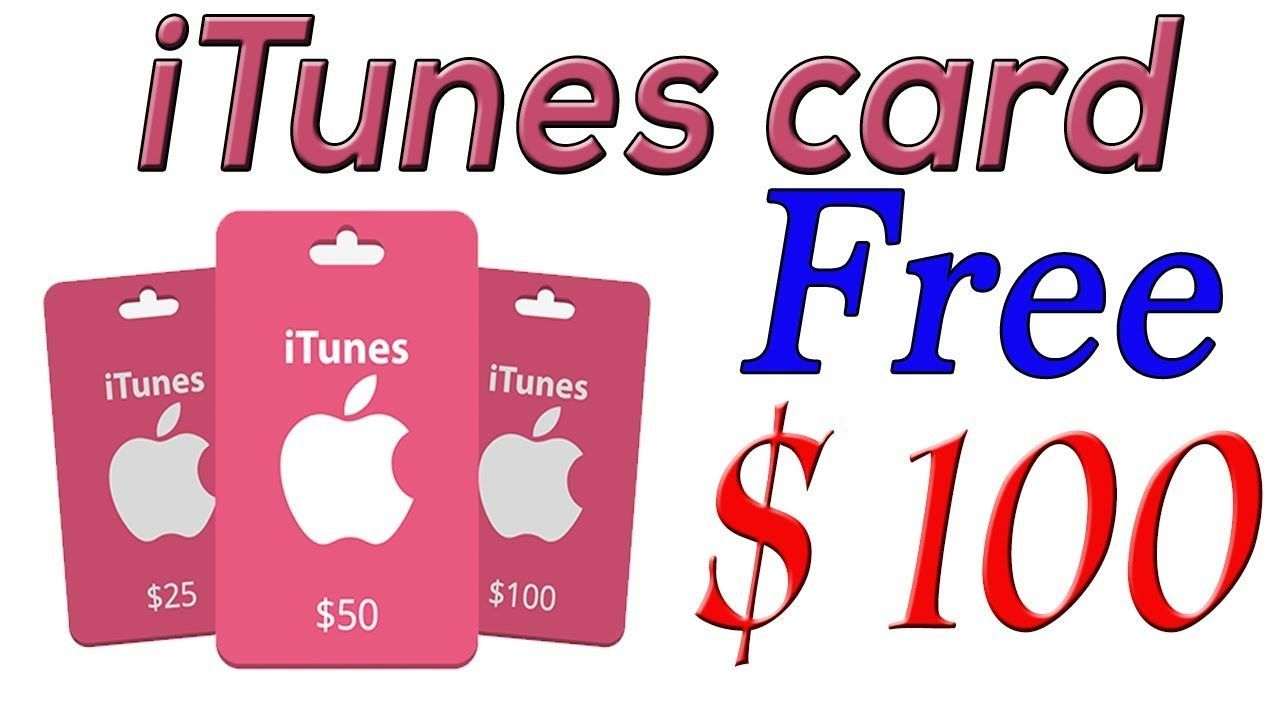 Get100 free itunes gift cardfree itunes gift card codes