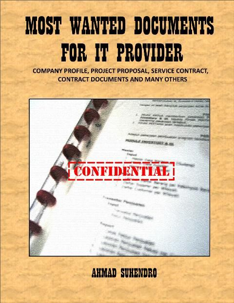 This Ebook Contains Various Documents For It Provider With The