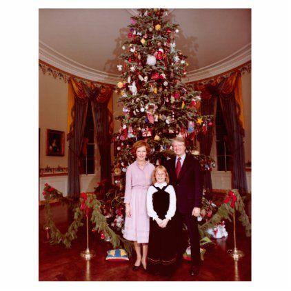 White House Christmas Pictures 2021 James Carter White House President Christmas Cutout Zazzle Com In 2021 White House Christmas White House Christmas Tree White House Christmas Decorations