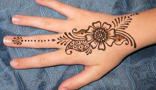 New arabic indian simple easy mehndi designs for beginners hands also rh ar pinterest