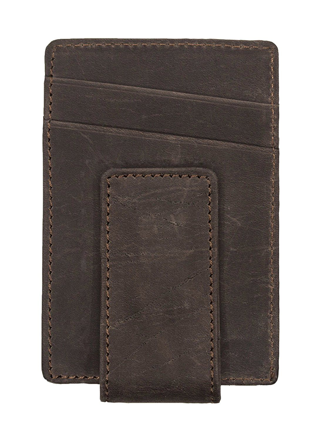 8dcdda6448a9 Mr.Wallet RFID Slim Genuine Top Grain Leather Front Pocket Money Clip Wallet  for Men    Be sure to check out this awesome product.