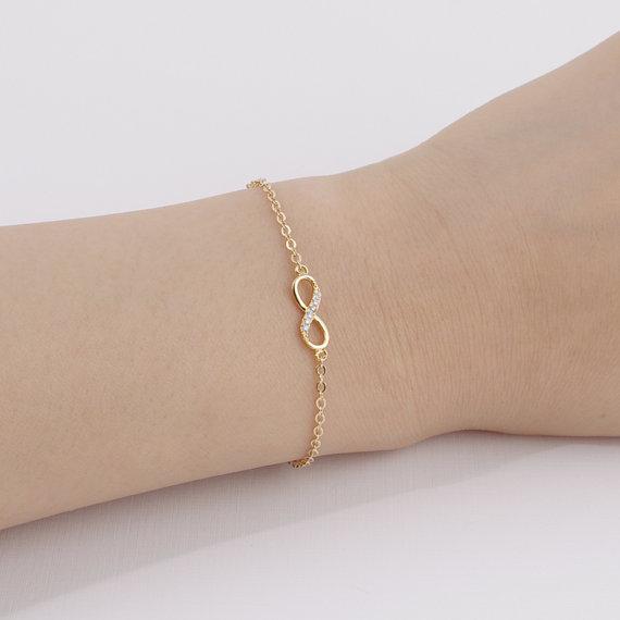 Infinity Bracelet In 2019 Love Bracelets Stone