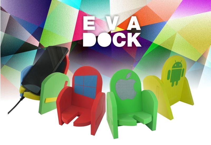 EVA DOCK - Il nuovo supporto per smartphone semplice, utile e pratico! info: bit.ly/1uQcR58