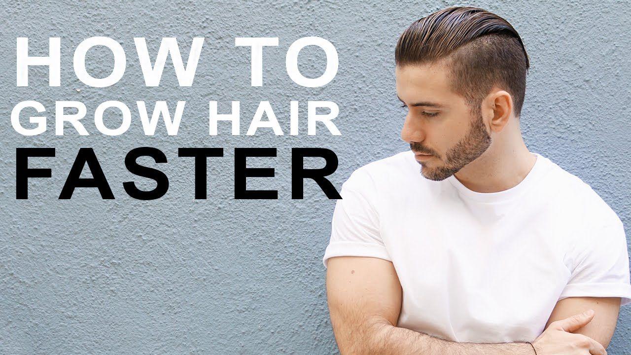 How To Grow Hair Faster Longer Tips To Grow Men S Hair Hair Loss Men Growing Hair Men Thick Hair Remedies