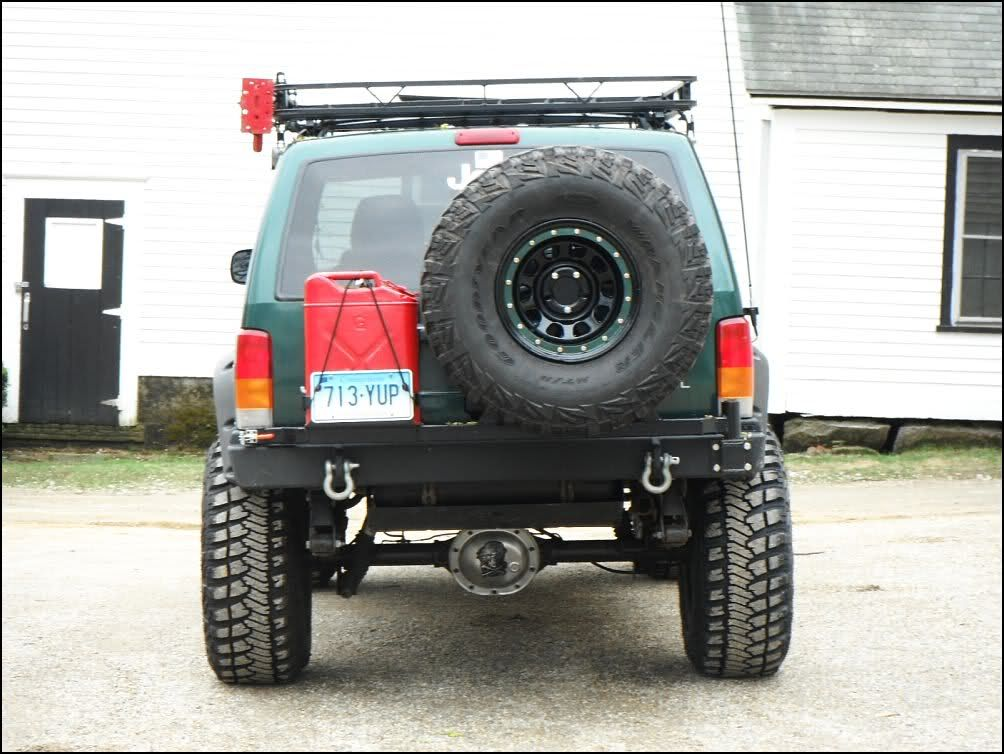Lets See Your Xj Rear Bumpers And Or Tire Carriers Jeepforum Com Jeep Xj Jeep Cherokee Xj Jeep Xj Mods
