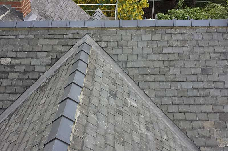 Re Roofing Pickering Property Using Reclaimed Welsh Slates Roof Architecture Roofing Slate Roof Cost