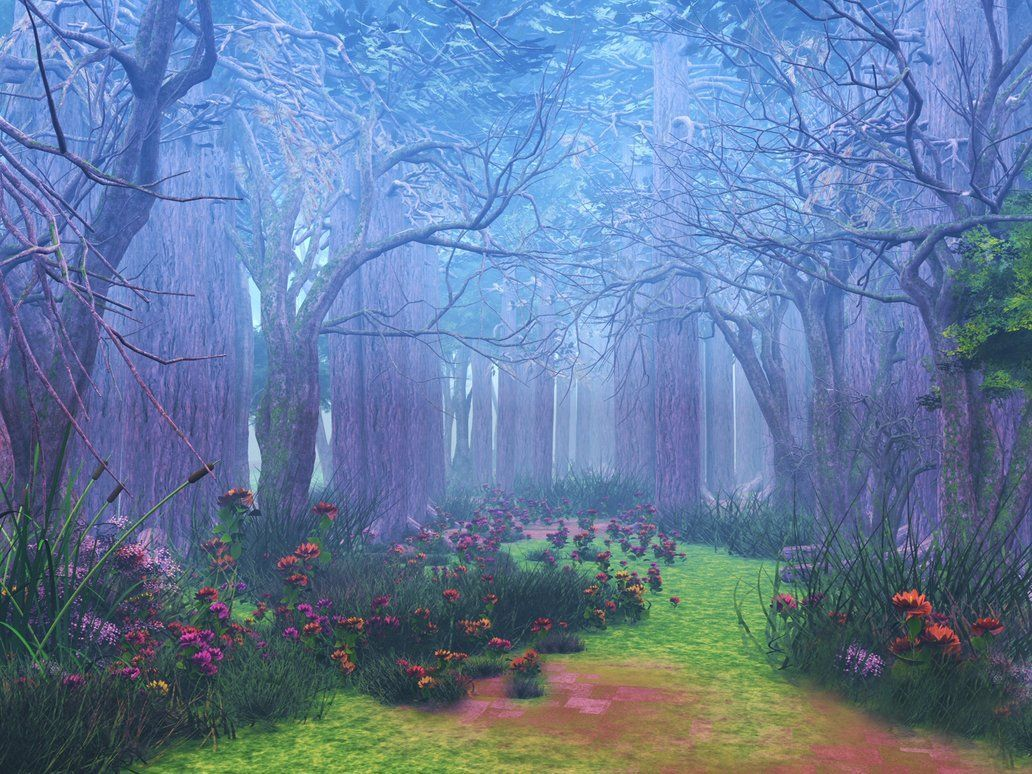 Mystical Flower Garden With Angel Fairy Yahoo Image Search Results Beautiful Nature Scenery Wallpaper Photography Backdrop